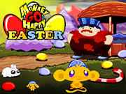 Monkey Go Happy Easter