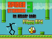 Spider Stickman 3: Better than Flappy Bird