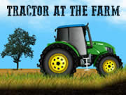 Tractor At The Farm