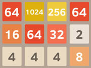 2048 Online Brain Teaser Game