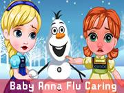 Baby Anna Flu Caring