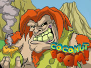 Cavemen vs Dinosaurs: Coconut Boom!