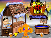 monkey go happy thanksgiving play online games
