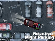 Pickup Truck Night Parking