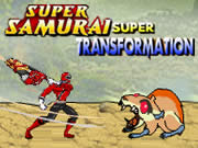 Power Rangers Super Samurai Super Transformation