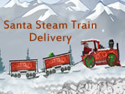 Santa Steam Train Delivery