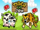 Tiger Eat Cow