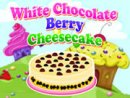 White Chocolate Berry Cheesecake