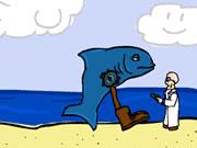 Boot Stick Shark