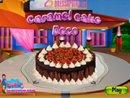 Caramel Cake Decor