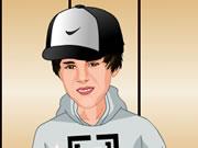 Dress up Justin Bieber