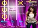 Hannah Montana X's and O's