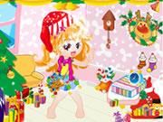 Lovely Christmas Doll