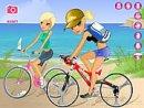 Maria and Sofia Go Biking