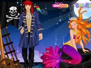 Pirate and Mermaid's Love