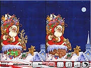 Snowy Christmas 5 Differences