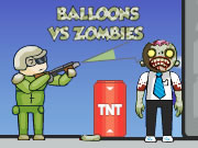 balloons vs zombies play online games