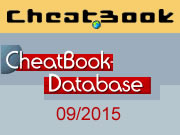 CheatBook Issue 09/2015