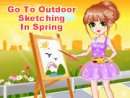 Go To Outdoor Sketching In Spring