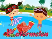 Kids Holiday Recipe Watermelon Ice