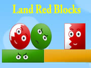 Land Red Blocks
