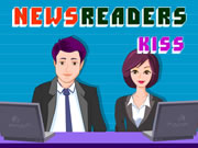 Newsreaders Kiss