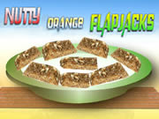 Nutty Orange Flapjacks