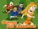 Orange Girl Takedown