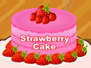 Strawberry Cake Decoration
