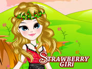 Strawberry Girl Dressup