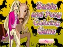 Barbie and Pony