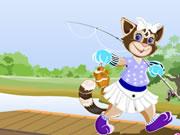 Cat Fishing Dress Up