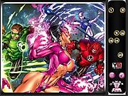 Hidden Numbers-Green Lantern
