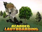 Bearded Ladyboarding
