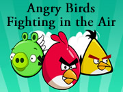 Angry Birds Fighting in the Air