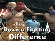 Boxing Fighting Difference