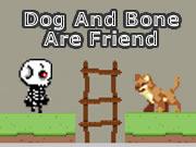 Dog And Bone Are Friend