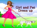 Girl and Pet Dress up