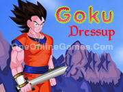 Goku Dragonball Z Dress Up