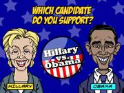 Hillary vs Obama