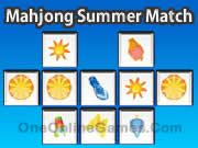 Mahjong Summer Match