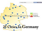 25 Cities In Germany Topography