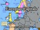 Europian Capitals Topography