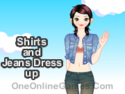Shirts and Jeans Dress up