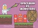 Spaceman vs Monters