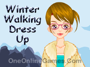 Winter Walking Dress Up