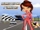 Yasmine Racing Dress Up