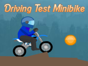 Driving Test Minibike