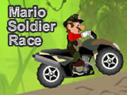 Mario Soldier Race Quad Game
