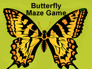 Butterfly Maze Game